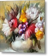 A Bouquet For Caitlin Metal Print