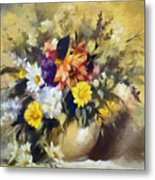 A Bouquet For Elizabeth Metal Print