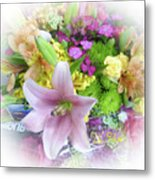 A Bouquet For My Love 46 Metal Print