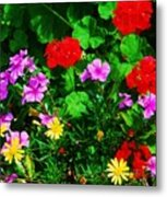 A Bouquet From Bermuda Metal Print