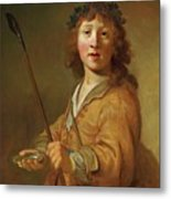 A Boy In The Guise Metal Print
