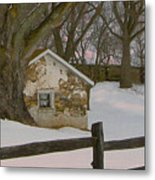 A Brandywine Winter Metal Print