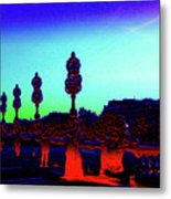 A Bridge Darkly 1 Metal Print