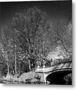 A Bridge Into The Ramble Metal Print