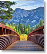 A Bridge To Beauty Metal Print