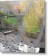 A Brook In The Bronx Metal Print