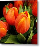 A Bunch Of Tulips Metal Print