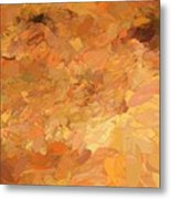 A Burst Of Sunshine In Winter Metal Print