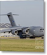 A C-17 Globemaster Strategic Transport Metal Print