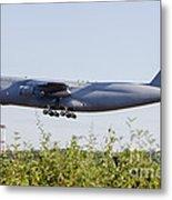 A C-5a Galaxy Of The U.s. Air Force Metal Print