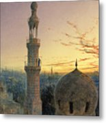 A Call To Prayer Metal Print