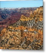 A Canyon Winter Metal Print