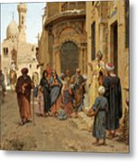 A Captive Audience. Cairo Metal Print