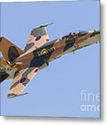 A Cf-188 Hornet Of The Royal Canadian Metal Print