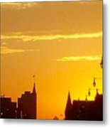A Chicago Morning Metal Print