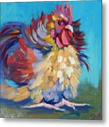 A Chicken Day Metal Print