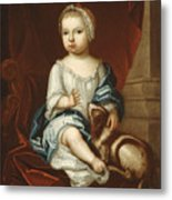 A Child Of The Pierpont Family Metal Print