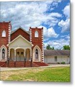 A Church In Sc Metal Print