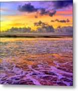 A City In The Clouds Metal Print