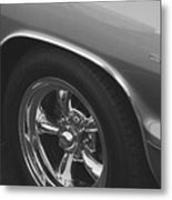 A Classic In Classic Black And White Metal Print