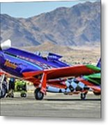 A Closer Look At Voodoo Engine Start Sundays Unlimited Gold Race Metal Print