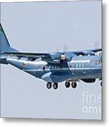 A Cn-235 Transport Aircraft Metal Print