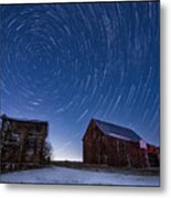 A Cold Winter Night Metal Print