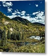 A Colorado Autumn Metal Print