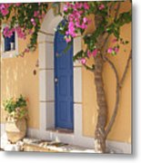 A Colorful Welcome Metal Print