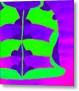 A Colourful  Vase Metal Print