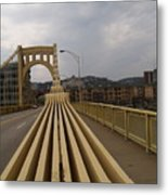 A Confounded Bridge Metal Print by Jacob Stempky