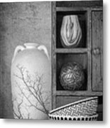 A Corner Of The Kitchen Metal Print