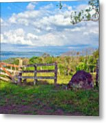 A Costa Rica View Metal Print