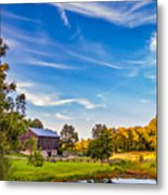 A Country Place 3 Metal Print