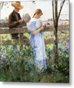 A Country Romance Metal Print