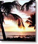 A Couple On The Shore Metal Print