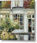 A Cozy House In Brittany Metal Print
