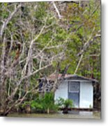 A Cozy Spot On The Apalachicola River Metal Print