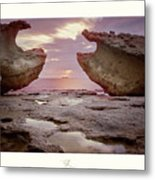 A Crab Stone, By The Cosmic Joker Metal Print