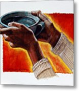 A Cup Of Water Metal Print