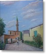 A Cypriot Village Metal Print