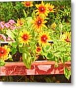 A Daisy Day Metal Print
