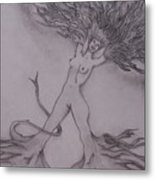 A Dance With The Wind Metal Print