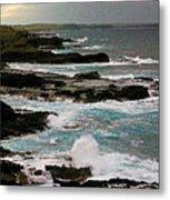 A Dangerous Coastline Metal Print