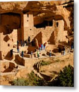 A Day At Mesa Verde Metal Print