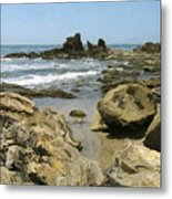 A Day At The Shore Metal Print