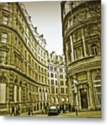 A Day In London Metal Print