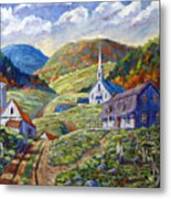 A Day In Our Valley Metal Print