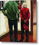 A Day With Mom Metal Print