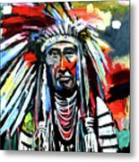 A Decorated Chief 1 Metal Print